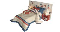 nautical bed 3d model