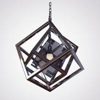 3d max cubis chandelier