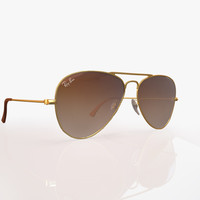 ban aviator titanium 3d model