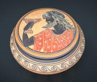 realistic greek vase 3d max
