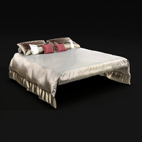 3d bedclothes bed cloth model