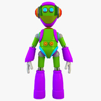 robot modelled max free