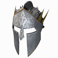 3d model helmet helm spiked
