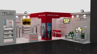 fair exhibition wooden stand max