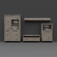 3d cabinet pbr details model