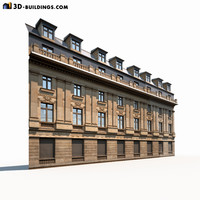 neoclassical modeled 3d model
