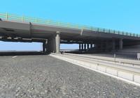 3d bridge highway