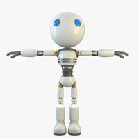 3d robot modelled