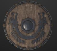 Viking Shield PBR