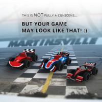 10 f1 sport cars 3d max