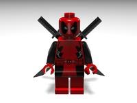 LEGO Deadpool Minifig