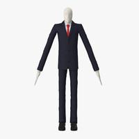 slender man 3d max