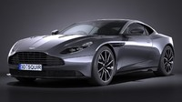 aston martin db11 3ds