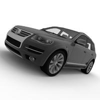 3d touareg model