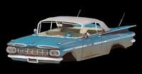 3d chevrolet impala 1959
