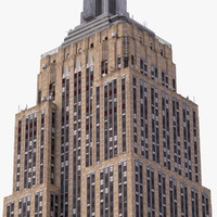 empire state building landmark 3d 3ds