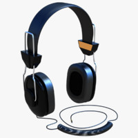 3d model headphones settings