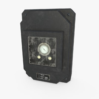 electrical pack - 3d model