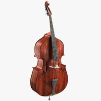 3d contrabass bass
