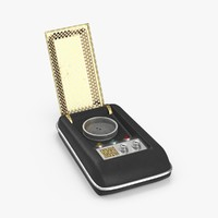 star trek tos communicator max