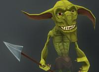 3d model goblin