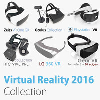Top Virtual Reality 2016 Collection