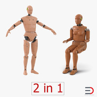 3d crash test dummies