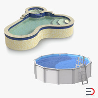 swimming pools 3d 3ds