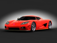koenigsegg 3d model