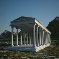 greek temple max