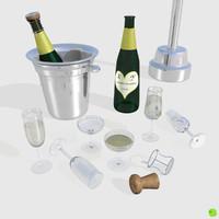 set champagne blend