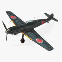 3d model messerschmitt bf 109e