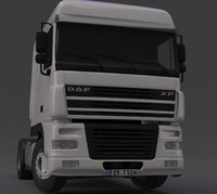 daf truck 3d model