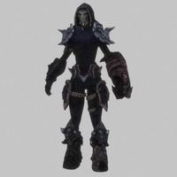 female warrior 3d 3ds