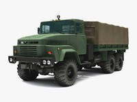 truck 6x6 3d model