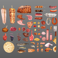 65 Meat and Fish Collection