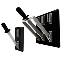 c4d realistic knife switch single