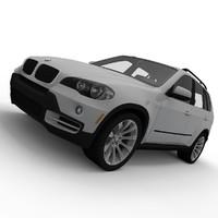3d bmw x5 model