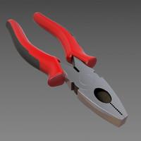 combination plier 3d model