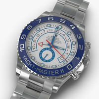 rolex yachtmaster ii oyster 3d model