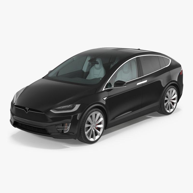 Tesla Model X fbx 3d model 001.jpg