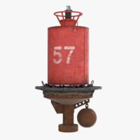 3d model buoy