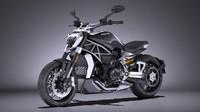 ducati x-diavel 2016 3d model