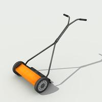 lawn mower - 3d max