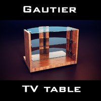 max gautier wave tv table