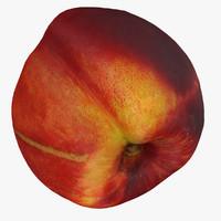 3d nectarine model
