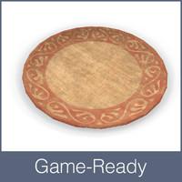 medieval plate 3d fbx