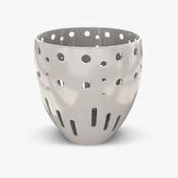 tealight holder candle light 3d max