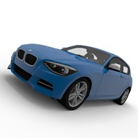 bmw 1 series 3d model