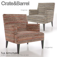 tux armchair 3d model